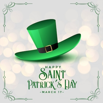 聖パトリックの日のためのリアルなレプラコーンキャップ