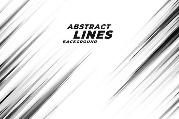 抽象的な斜めシャープライン背景