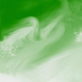 緑の水彩画の抽象的なテクスチャ背景