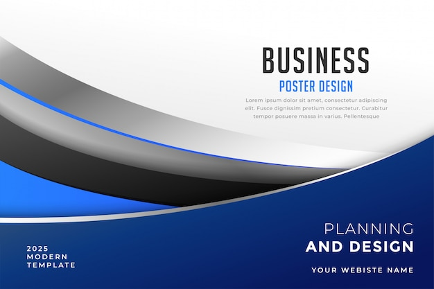 Современный дизайн обложки бизнес шаблон презентации