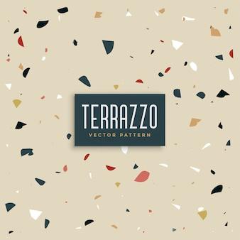 モダンなテラゾのテクスチャデザインの背景