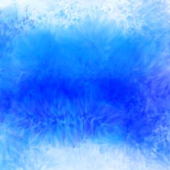 青い色の水彩画のテクスチャ