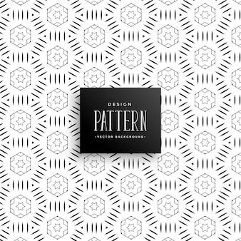 スタイリッシュな装飾的なパターンの背景
