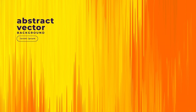 抽象的なコミックスタイルのオレンジ色の背景