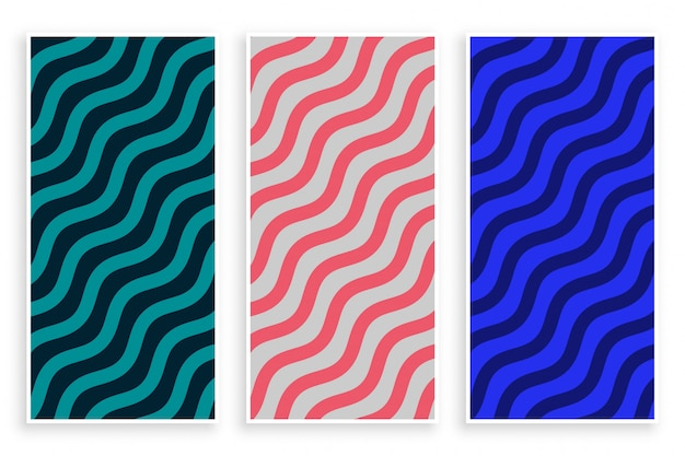 Абстрактный зигзагообразный диагональный узор волны