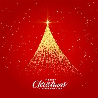 美しいメリークリスマスフェスティバルのグリーティングカード
