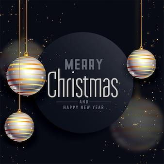 メリークリスマスの美しい祭りの挨拶