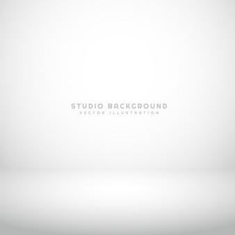 空の白いスタジオの背景