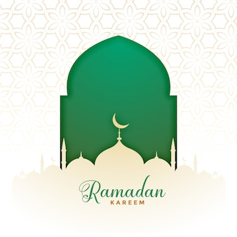 Исламский рамадан карим мусульманский фестиваль фон