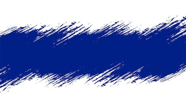テキストスペースを持つ青いグランジテクスチャ背景