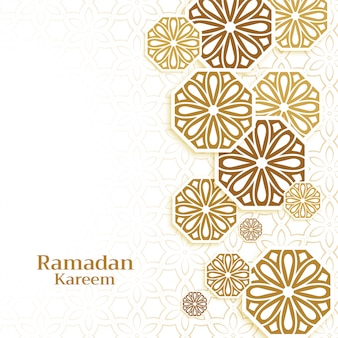 ラマダンカリームシーズンのイスラム装飾背景