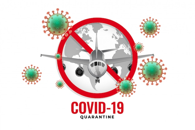 Самолет перестал летать из-за вспышки коронавируса