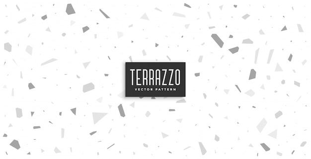 柔らかい片仮名と灰色のテラゾーパターン背景デザイン