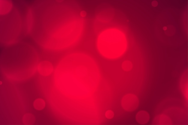 Элегантный размытый красный боке огни фон