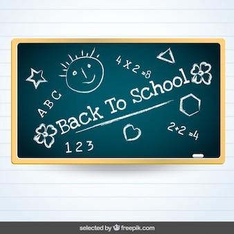 戻る学校の黒板へ