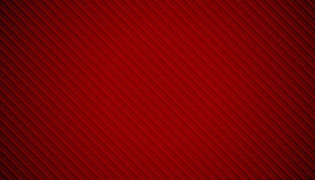抽象的な赤い炭素繊維テクスチャ背景デザイン