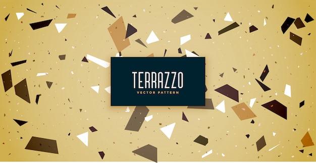 テラゾー床タイルパターンテクスチャ背景
