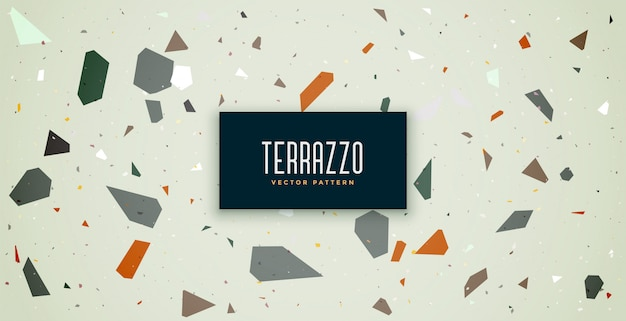 テラゾーパターンテクスチャ床タイル背景