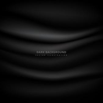 Темный фон с текстурой ткани