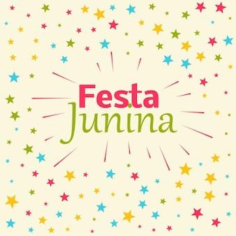 フェスタジュニーナお祝いの背景
