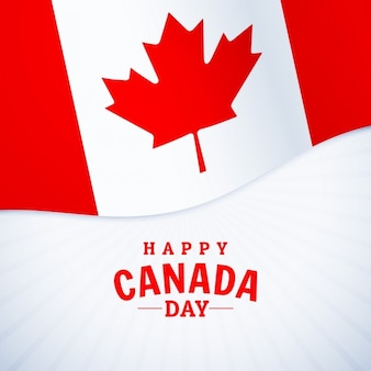 祝日幸せカナダ日の挨拶