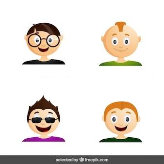 Современные мужчины аватара
