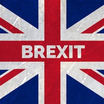 欧州連合フラグから英国出口