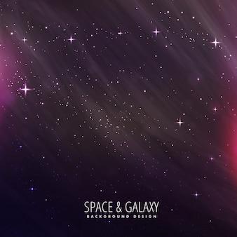 星の夜の宇宙背景