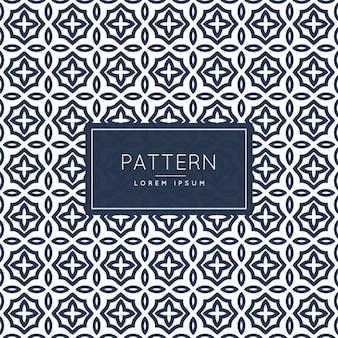 抽象イスラムスタイルパターン