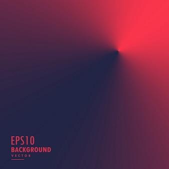 赤色円錐ラジアル勾配背景