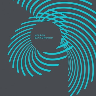 抽象的な青い波線の背景
