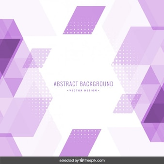 Фиолетовый фон многоугольной