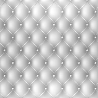 白い色の抽象椅子張り生地のテクスチャ背景