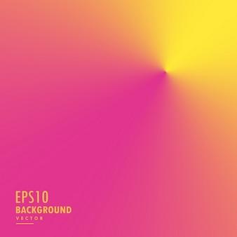 円錐形の抽象的な背景、ピンク、黄色