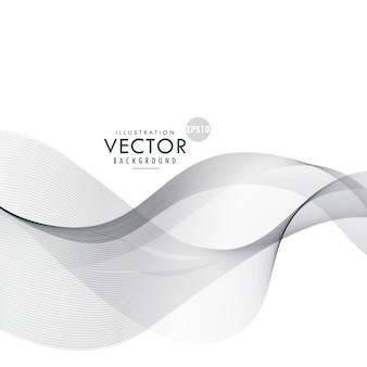 Удивительно серый волнистая форма абстрактного фона