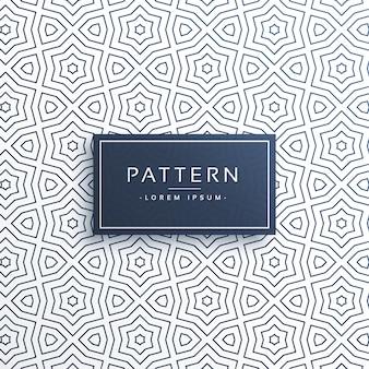 抽象スタイルのラインパターン背景デザイン