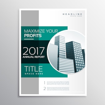 会社年報ビジネスパンフレットデザインテンプレート