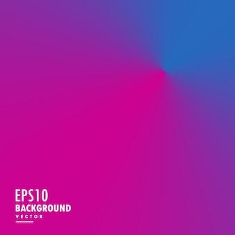 ピンクと青の円錐形のグラデーションライト効果の背景