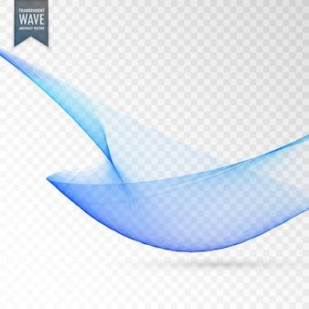 エレガントな青透明な背景のデザイン
