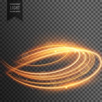 抽象的な透明な光の効果の背景