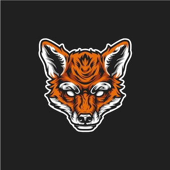 フォックスヘッドのロゴ