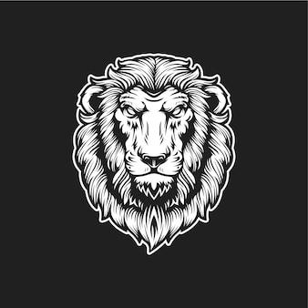 Логотип голова льва