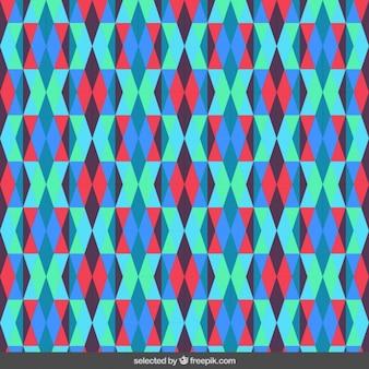 半透明の菱形パターン