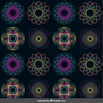 スパイログラフパターン