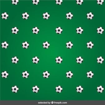 ボールとサッカーパターン