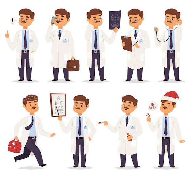 分離された医師のキャラクター