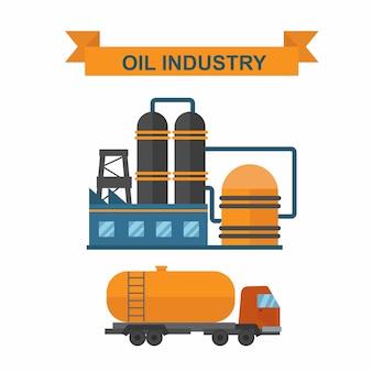 世界の石油ガス生産インフォグラフィック分布と石油抽出率