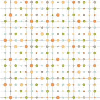 円と帯付きのカラー背景
