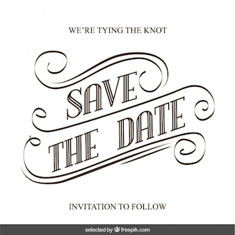 手書きの結婚式の招待状