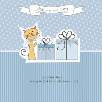 誕生日発表カード